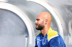 Jordi van Stappershoef of Bristol Rovers in the dugout before kick off - Mandatory by-line: Arron Gent/JMP - 21/09/2019 - FOOTBALL - Cherry Red Records Stadium - Kingston upon Thames, England - AFC Wimbledon v Bristol Rovers - Sky Bet League One