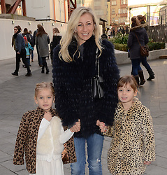 Jenny Halpern and children attend Annie Gala Screening at Odeon West End, Leicester Square, London on Sunday 14 December 2014