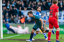 15-05-2019 NED: De Graafschap - Ajax, Doetinchem<br /> Round 34 / It wasn't really exciting anymore, but after the match against De Graafschap (1-4) it is official: Ajax is champion of the Netherlands / Nicolas Tagliafico #31 of Ajax scores 2-1