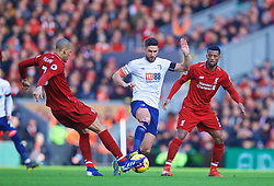 LIVERPOOL, ENGLAND - Saturday, February 9, 2019: AFC Bournemouth's Andrew Surman during the FA Premier League match between Liverpool FC and AFC Bournemouth at Anfield. (Pic by David Rawcliffe/Propaganda)