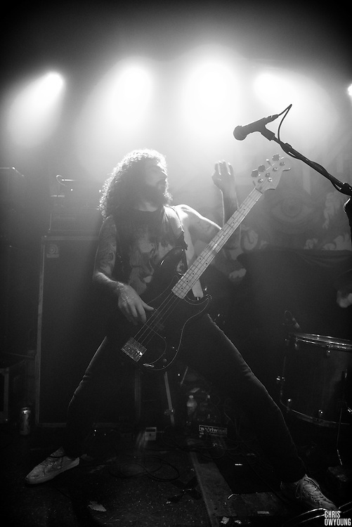 Iron Reagan performs at Saint Vitus Bar in Greenpoint Brooklyn, October 28, 2016