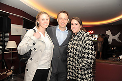 A party to promote the exclusive Puntacana Resort & Club - the Caribbean's Premier Golf & Beach Resort Destination, was held at The Groucho Club, 45 Dean Street London on 12th May 2010.<br /> <br /> Picture Shows:- Left to right, TANYA CAMPBELL, LUCAS SCENDO and REBECCA CASSAR