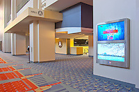 Interior photography of Washington Convention Center Signage