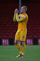 Football - 2016 / 2017 League Cup - Round 3: AFC Bournemouth vs. Preston North End<br /> <br /> Hat trick hero Simon Makienok of Preston applauds the traveling preston fans at the final whistle at Dean Court (The Vitality Stadium) Bournemouth<br /> <br /> Colorsport/Shaun Boggust