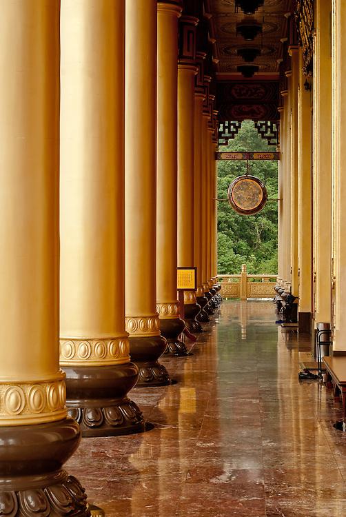Holy Glory Yu Shan Yi Guan Dao Temple in Tainan County, Taiwan, August 18th, 2008