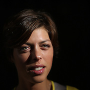 A portrait of Blanka Vlasic, Croatia, Women's High Jump, at the Adidas Grand Prix Press Conference, Hyatt Grand Central, New York ahead of the Adidas Grand Prix at Icahn Stadium, Randall's Island. Manhattan, New York. 24th May 2012. Photo Tim Clayton