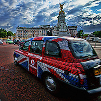 Vodafone Taxi @ Buckingham Palace