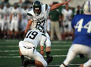 Reagan vs. MacArthur, 20 Sep 07, Comalander Stadium, San Antonio.  Reagan Rattlers defeated the Brahmas with an interception for a touchdown, stopping any hope for a comeback by Brahmas in the closing minutes of the game, Rattlers win 35-23