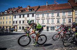 Jaka Primozic of KK Sava Kranj during cycling race On the streets of Kranj 2016, on July 31, 2016 in Kranj centre, Slovenia. Photo by Vid Ponikvar / Sportida