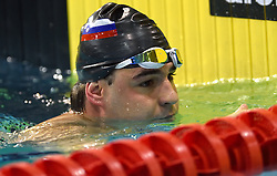 02-04-2015 NED: Swim Cup, Eindhoven<br /> Darko Duric SLO 50m butterfly<br /> Photo by Ronald Hoogendoorn / Sportida