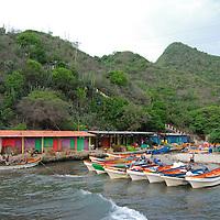 Malecon en Puerto Colombia, Choroni,  Edo. Aragua, Venezuela