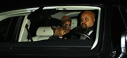 Lady Gaga goes to the Peppermint Club with a guard dog sitting in the front seat of her Rolls Royce after attending the 59th Annual Grammy Awards in West Hollywood. 12 Feb 2017 Pictured: Lady Gaga. Photo credit: MEGA TheMegaAgency.com +1 888 505 6342