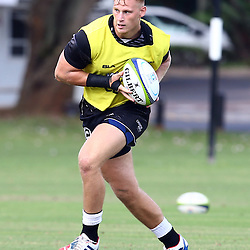 DURBAN, SOUTH AFRICA, Friday 15, January 2016 - Jean-Luc du Preez during The Cell C Sharks Pre Season training Friday 145h January 2016,for the 2016 Super Rugby Season at Growthpoint Kings Park in Durban, South Africa. (Photo by Steve Haag)<br /> images for social media must have consent from Steve Haag