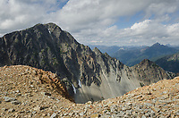 Rugged terrain of North Cascades National Park