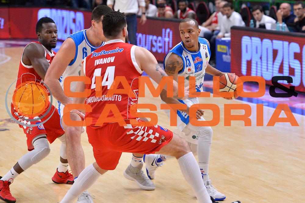 SASSARI 16 DICEMBRE 2017<br /> Banco di Sardegna Dinamo Sassari - The Flexx Pistoia<br /> LegaBasket LBA PosteMobile 2017/2018<br /> NELLA FOTO William Hatcher<br /> FOTO CIAMILLO - Luigi Canu