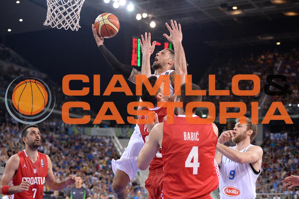 DESCRIZIONE: Torino FIBA Olympic Qualifying Tournament Italia - Croazia<br /> GIOCATORE: tDaniel Lorenzo Hackett<br /> CATEGORIA: Nazionale Italiana Italia Maschile Senior<br /> GARA: FIBA Olympic Qualifying Tournament Italia - Croazia<br /> DATA: 05/07/2016<br /> AUTORE: Agenzia Ciamillo-Castoria