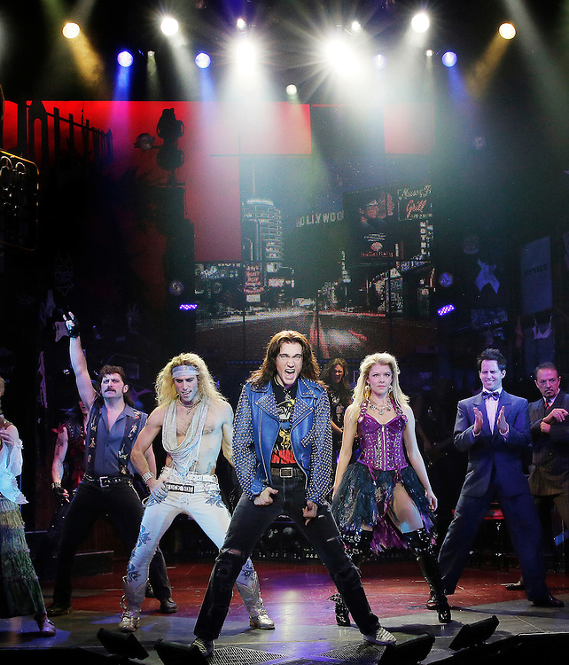 ROCK of AGES .Credit photo: © Paul Kolnik.paul@paulkolnik.com.nyc  212-362-7778