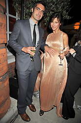? and SOPHIE HUNTER at the Quintessentially and Perrier-Jouet Belle Epoque Summer Party in association with Jaguar held at The Orangery, Kensington Palace, London on 18th June 2009.