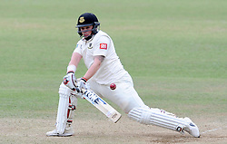 Sussex's Matt Machan sweeps the ball - Photo mandatory by-line: Harry Trump/JMP - Mobile: 07966 386802 - 08/07/15 - SPORT - CRICKET - LVCC - County Championship Division One - Somerset v Sussex- Day Four - The County Ground, Taunton, England.