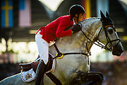 Nicola PHILIPPAERTS (BEL) riding HM Harley v riding Bisschop during the Nations Cup of the World Equestrian Festival, CHIO of Aachen 2018, on July 13th to 22th, 2018 at Aachen - Aix la Chapelle, Germany - Photo Christophe Bricot / ProSportsImages / DPPI