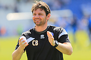Chris Beech during the Sky Bet League 1 match between Colchester United and Rochdale at the Weston Homes Community Stadium, Colchester, England on 8 May 2016. Photo by Daniel Youngs.