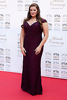 Elaine Crowley at the 2017 IFTA Film & Drama Awards at the Round Room of the Mansion House, Dublin,  Ireland Saturday 8th April 2017.