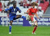 20091022: LISBON, PORTUGAL - SL Benfica vs Everton: Europa League 2009/2010 - Group Stage. In picture: David Luiz. PHOTO: Alexandre Pona/CITYFILES