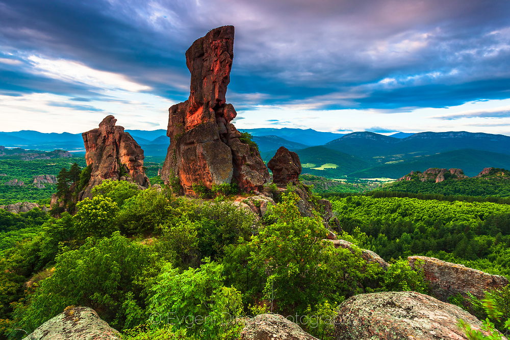 Kaleto fortress in Belogradchik Rocks