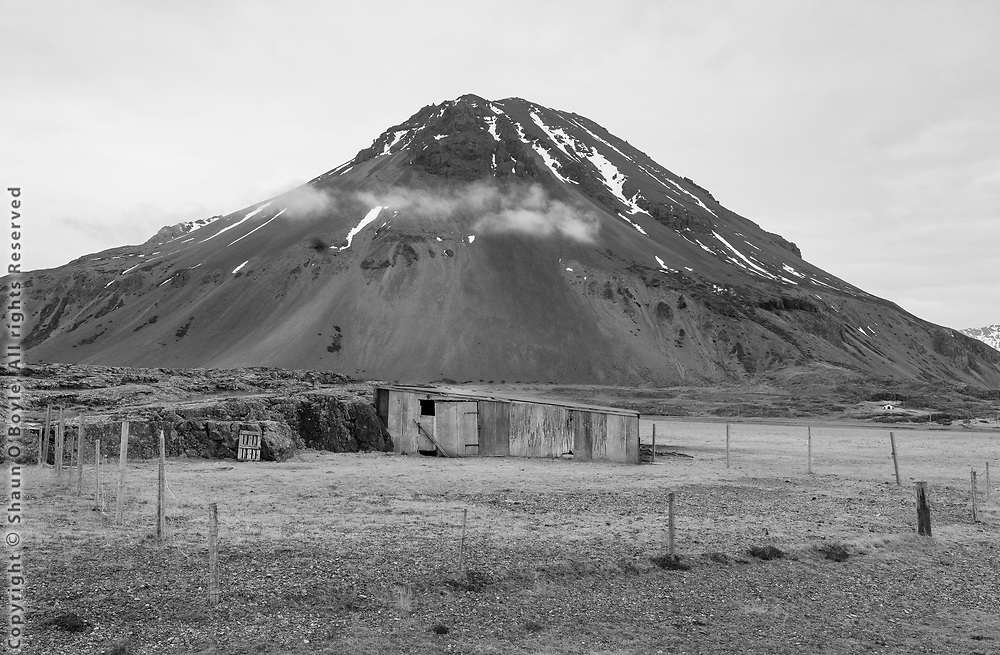 Horse barn, Southeast Iceland
