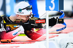 March 9, 2019 - –Stersund, Sweden - 190309 Johannes Thingnes Bö of Norway during warm up ahead of the Men's 10 KM sprint during the IBU World Championships Biathlon on March 9, 2019 in Östersund..Photo: Petter Arvidson / BILDBYRÃ…N / kod PA / 92252 (Credit Image: © Petter Arvidson/Bildbyran via ZUMA Press)