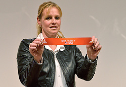 30-03-2015 NED: FIVB Drawing WCH Beach Volleyball, The Hague<br /> The Drawing of Lots for the FIVB Beach Volleyball World Championships The Netherlands 2015 will take place at the Mauritshuis art museum / Rebekka de Kogel-Kadijk