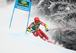 Leif Kristian Nestvold-Haugen of Norway competes during 1st run of Men's GiantSlalom race of FIS Alpine Ski World Cup 57th Vitranc Cup 2018, on March 3, 2018 in Kranjska Gora, Slovenia. Photo by Ziga Zupan / Sportida