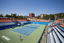 Center court at ATP Challenger Zavarovalnica Sava Slovenia Open 2017, on August 8, 2017 in Sports centre, Portoroz/Portorose, Slovenia. Photo by Urban Urbanc / Sportida
