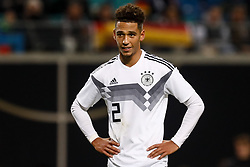 November 16, 2018 - Leipzig, Germany - Thilo Kehrer of Germany looks on during the international friendly match between Germany and Russia on November 15, 2018 at Red Bull Arena in Leipzig, Germany. (Credit Image: © Mike Kireev/NurPhoto via ZUMA Press)