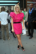 Tinsley Mortimor at The 2010 Mercedes Benz Fashion Week in front of The Bryant Park Hotel on September 14, 2009 in Nw York City