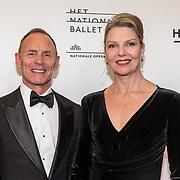 NLD/Amsterdam/20190910 - Het Nationale Ballet Gala 2019, Ted Brandsen en partner