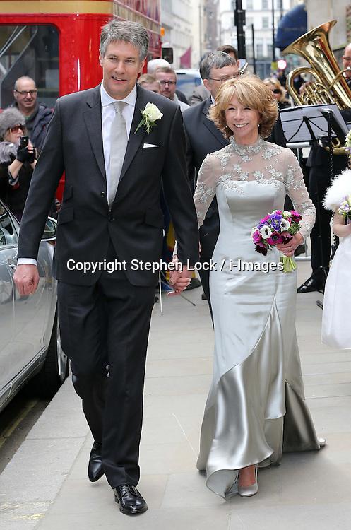 Wedding Of Coronation Street Actress Helen Worth I Images