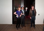 FIONA RAE; DAN PERFECT, Damien Hirst, Tate Modern: dinner. 2 April 2012.