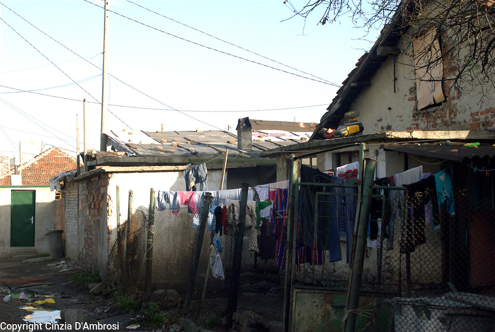 In the Roma ghetto of Sofia, Fakulteta Mahala, normal city services do not reach there. There is no public transport,no road management, hardly working electricity and water.