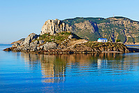 Grece, Dodecanese, ile de Kos, baie de Kefalos, ile de Kastri // Greece, Dodecanese, Kos island, Kefalos bay, Kastri island