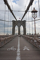 brooklyn bridge in New York City October 2008