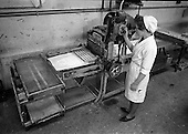 1963 - View of machinery at Liam Devlin and Son Ltd. factory at Cork Street, Dublin