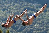 Team GREAT BRITAIN - HEATLY James HASLAM Ross <br /> Bolzano, Italy <br /> 22nd FINA Diving Grand Prix 2016 Trofeo Unipol<br /> Diving<br /> Men's 3m synchronised springboard final<br /> Day 03 17-07-2016<br /> Photo Giorgio Perottino/Deepbluemedia/Insidefoto