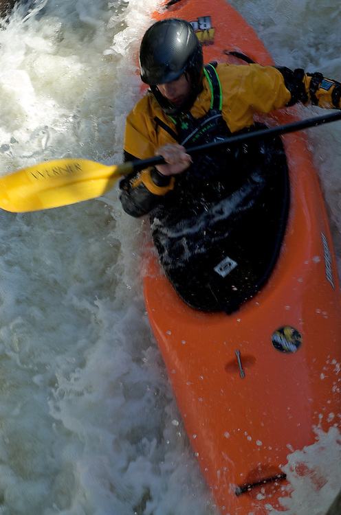 Whitewater Kayaking on the Beaver River, Eagle Section, 09/06/2009.