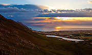 Gordons Bay at Sunset, Cape Town, South Africa. Picture by Greg Beadle Images by Greg Beadle