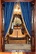 The Gossip Room at the Falaknuma Palace in Hyderabad.