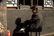sleeping guard<br /> Pingyao, Shanxi, China