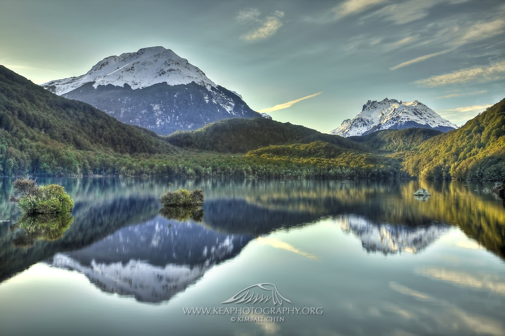 Lake Sylvan, Mount Aspiring National Park, New Zealand
