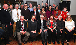 Westport Town Band together at the reunion function held recently at the Plaza Hotel...Pic Conor McKeown