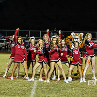 10-13-17 Green Forest Sr High Cheerleaders - Mtn. View game